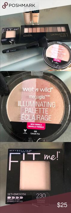 Make up bundle revlon wet and wild loreal mayb This is a makeup bundle. All products have been lightly used. Please see all pictures. I can also separate or sell the items in any combo Revlon Makeup Foundation