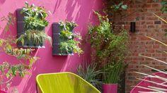 Inspiration déco : un mur végétal… à l'extérieur  // http://www.deco.fr/diaporama/photo-10-fauteuils-de-bureau-qui-ne-font-pas-grise-mine-59972/!
