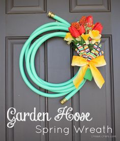diy-spring-decorating-ideas-how-to-make-garden-hose-spring-wreath