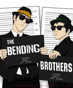 Legend of Korra: The Bender Bros by WiserMaven.deviantart.com on @deviantART