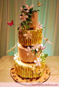 tropical birds cake - Buscar con Google