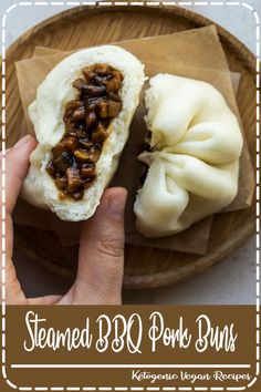 This Chinese Steamed BBQ Pork Buns (Char Siu Bao) recipe unlocks the secret to the perfect steamed pork bun just like you get at the dim sum restaurant. Asian Appetizers, Appetizer Recipes, Dessert Recipes, Steam Recipes, Pork Recipes, Cooking Recipes, Char Siu Bao Recipe, Pork Bao Recipe, Healthy Recipes