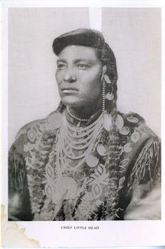 Native American Chief Little Head