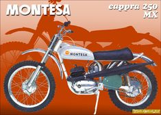 Motocross Bikes, Vintage Motocross, Moto Guzzi, Bultaco Motorcycles, Motos Trial, Motorcycle Engine, Street Tracker, Cool Bikes, Bicycle