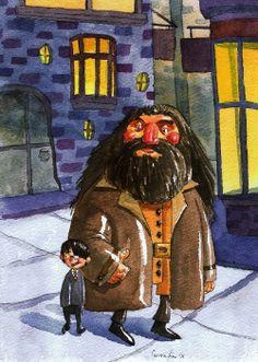 Harry Potter & Hagrid
