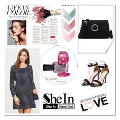 """""""SheIn 5/XV"""" by nermina-okanovic ❤ liked on Polyvore featuring shein"""