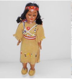 Vintage-Hard-Plastic-Native-American-Indian-Girl-Doll ~ got one as a souvenir one family trip to Tennessee. My Childhood Memories, Childhood Toys, Sweet Memories, Native American Dolls, Native American Indians, American Indian Girl, Nostalgia, Indian Dolls, Baby Boomer