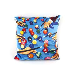 Seletti Cushions At Cheap Price With Lipstick Volcano Kitten Teeth and Snakes flowers Armchair in Velvet Material by Seletti Wears Toiletpaper at Smithers of Stamford Dealer Store Uk Seller of Art Velvet Furniture, Furniture Care, Cushion Fabric, Cushion Pads, Retro Images, Velvet Material, Fabric Squares, Linen Pillows, Pop Art