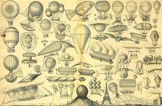 Les principales machines volantes de 1748 à 1886 par Morieu -15 août 1886.