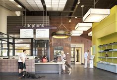 Denver Animal Shelter - I love the adoption fee board and the board that itemizes the adoption fee!