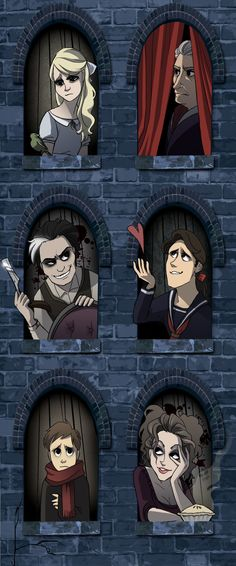 Fan Art of 'Sweeney Todd' Cast for fans of Sweeney Todd 2596859 Theater, Theatre Nerds, Musical Theatre, Disney Channel, Tim Burton Johnny Depp, Mrs Lovett, Look 80s, Laika Studios, Movies And Series