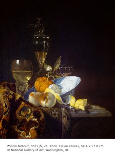 Willem Kalf - Still Life. Willem Kalf was a Dutch Golden Age painter who specialized in still lifes. Later in his life, Kalf became an art dealer and appraiser