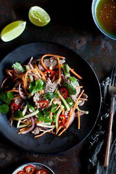 @Helene Dujardin Thai Beef Salad  #feedfeed, sharing and creating food inspiration http://instagram.com/thefeedfeed