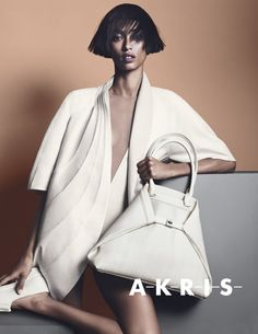 Anais Mali by Lachlan Bailey for Akris Spring Summer 2014