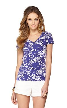Michele V-Neck Top - WANT