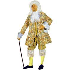 Roi Soleil code produit : 945-395 5 pièces : Veste, Pantalon, Gilet, Jabot et Tricorne. Taille(s) : 52.
