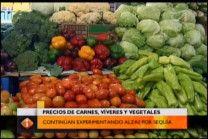 Precios De Carnes Víveres Y Vegetales Continúan Experimentando Alzas Por Sequía #Video