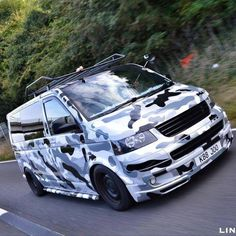 CamoVan Volkswagen Bus, Vw Camper, Vw T5 Campervan, Best Campervan, Car Trailer, Trailers, Camping In Deutschland, Vans Vw, Vw Transporter Van