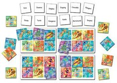 This lotto game features 4 Aboriginal art inspired game board, 24 picture tiles and 24 word tiles. Call out the names of the animals or use the image tiles to i. Naidoc Week, Lotto Games, Picture Tiles, Aboriginal Art, Early Childhood Education, Game Art, Board Games, Online Business, Gallery Wall