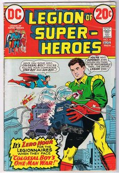 legion of superheroes covers - Google Search
