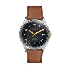 Farer Watch - Carter - Black GMT + Date - 39.5mm Case