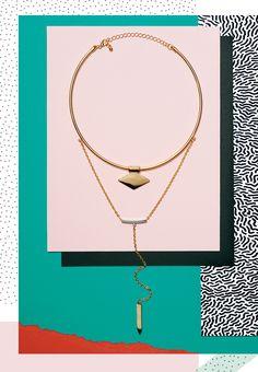 Jess Bonham and Anna Lomax for Topshop. @intentjewellery : Jewellery Editorials