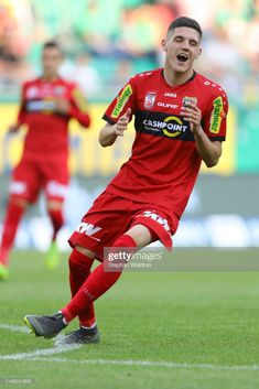 Emir Karic of Altach during the Rapid Wien v CASHPOINT SCR Altach - Tipico Bundesliga at Allianz Stadion on May 2019 in Vienna, Austria. Get premium, high resolution news photos at Getty Images Still Image, The Outsiders, Soccer, News, Futbol, European Football, European Soccer, Football, Soccer Ball