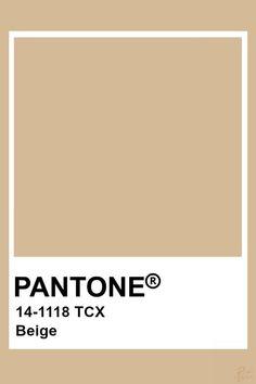 pantone Pantone Tcx, Pantone Swatches, Pantone 2020, Color Swatches, Beige Color Palette, Colour Pallete, Colour Schemes, Color Trends, Beige Colour