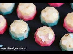 This video is about How to make edible gems. It is a demo on how I made my light blue edible gems from sugar and light corn syrup Ingredients: 1/2 cup sugar ...