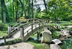 One of the most common elements in Japanese landscaping ideas is the bridge, and whether you have a large garden area and can erect a big structure or maybe just a small pond where you can install a miniature version, adding a decorative bridge to your landscaped yard gives it a magical aura, with the imaginative impression that crossing the bridge will take you into a separate paradise.