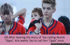 EXO FACT - 68...It'll probably never happen now :(