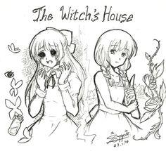 Witch's House - Ellen and Viola by suppiechan25.deviantart.com on @DeviantArt