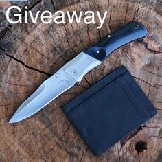We're giving you another chance to win a knife from the guys at @bucknbearknives and one of our Scout wallets. Happening now! To enter you must follow @bucknbearknives and @andarwallets - go enter the giveaway on their page  #LiveWithAnEdge #gaw