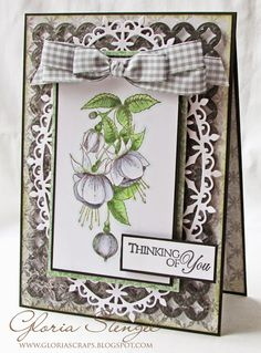 Scraps of Life: Heartfelt Creations Wednesday - Thinking of You