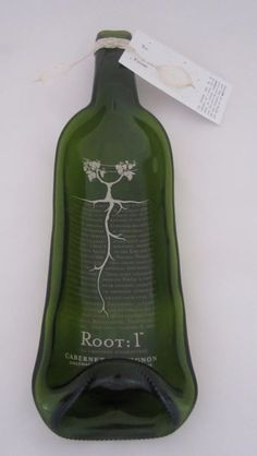 Jocelyn Keer - repurposed wine bottles