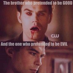 Salvator brothers -- Vampire Diaries I don't know who I love more!!!!!