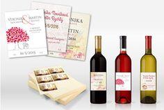 Svatební etikety na víno