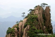 Huang Shan (Yellow Mountains) China.  One of my favorite places to have visited.