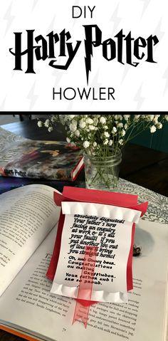 DIY Harry Potter Howler