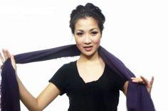 25 façons de porter une écharpe en 4.5 minutes!