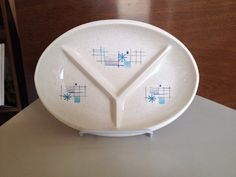 Franciscan Oasis Divided Plate