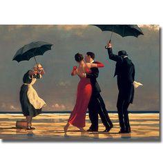 <li>Artist: Jack Vettriano</li> <li>Title: Singing Butler </li> <li>Product Type: Canvas art</li>