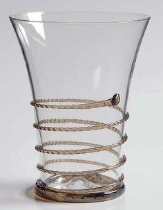 Juliska Glassware AMALIA-CHARCOAL TRIM 10 Oz Flat Tumbler 7061101 | eBay