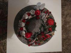 Ornament Wreath, Ornaments, Advent, Christmas Wreaths, Holiday Decor, Home Decor, Decoration Home, Room Decor, Christmas Decorations