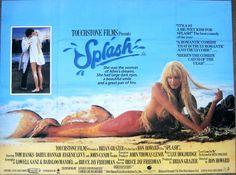 Splash Original Film Poster Tom Hanks and Daryl Hannah Z Movie, 80s Movies, Love Movie, Movies Showing, Movies And Tv Shows, Splash Movie, Brian Grazer, Daryl Hannah, Tom Hanks