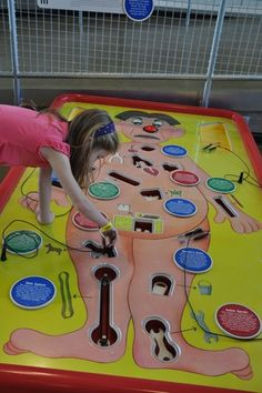 Life size Operation game at Carnegie Science Center - Pittsburgh, PA Carnegie Science Center, Summer Science, Kid Science, Preschool Science, Physical Science, Science Education, Earth Science, Science Activities, Scout Games