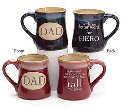 With Love Home Decor - Dad Coffee Mug, Great Father's Day Gift Idea!