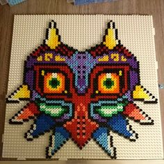 Majora's Mask perler beads by jonnyretro