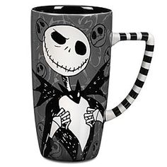 Disney Jack Skellington Mug | Disney StoreJack Skellington Mug - Pour some dark magic into your ''mourning'' with this macabre Jack Skellington mug!Each sip is so much livlier when it's with cadaverous company.