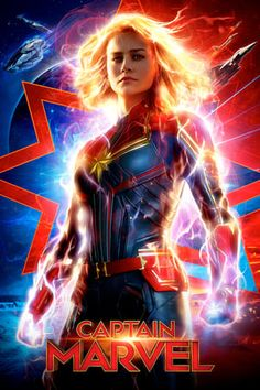 Before Marvel Studios' next big MCU, meet Carol Danvers, played by Brie Larson in the film, but evolved over time from Ms. Marvel to the hero we know today. What can Captain Marvel do? Who is Captain Marvel? Poster Marvel, Marvel Comics, Films Marvel, Marvel Movie Posters, Marvel Hela, Mcu Marvel, Thanos Marvel, Marvel Games, Avengers Poster